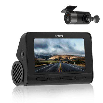 New 70mai A800 RC06 Dual-vision 4K Dash Cam With Night Vision Parking Surveillance GPS Built-in In-app Playback Share For 24h Guard