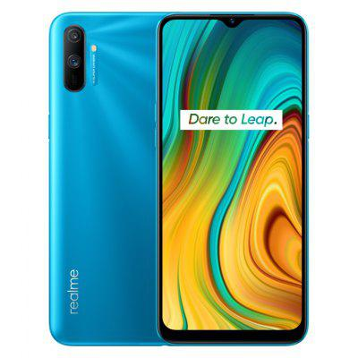 Global Version Realme C3 6.5inch 3GB 64GB Helio G70 Processor 12MP AI Dual Camera HD Mini-drop Fullscreen 5000mAh NFC Mobile Phone Image
