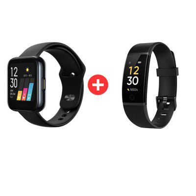 Realme Watch Smart Watch Heart Rate Blood-oxygen Monitor Notifications IP68 Sports 1.4inch Touchscreen Personalized Watch Faces Image