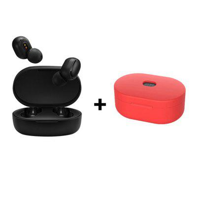 Фото - New Original Xiaomi Redmi Airdots S Noise reduction Bluetooth Earphone Stereo bass 5.0 With Mic Handsfree Earbuds AI Control dekko dk 8809 sports mini auto scan fm radio w stereo earphone silver blue black