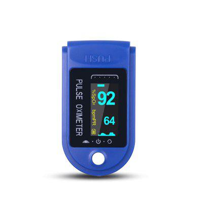 Fingertip Oximeter Pulse Oximetry Instrument Monitoring Heart Rate Blood Glucose SpO2 Diagnostic Monitor Tool