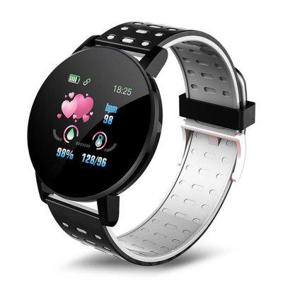 Фото - 119Plus Smart Bracelet Wristband Heart Rate Monitor Sport Fitness Tracker Smart Watch Sport Smartband for Android IOS Men Women noerden hybrid classical smart watch life2 red fitness tracker waterproof wristband activity sport smartwatch clever watch