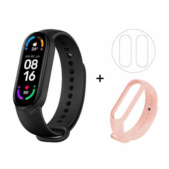 Original Xiaomi Mi Band 6 Smart Bracelet AMOLED Blood Oxygen Fitness Traker Heart Rate Bluetooth Waterproof Smart Band 6