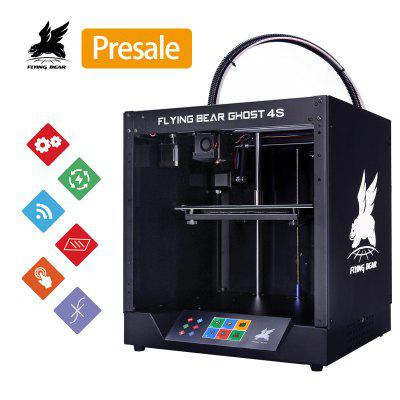 Flying Bear Ghost 4 Full Metal Frame High Precision DIY 3D Printer Kit with Colorful Touchscreen