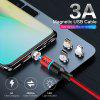 Udyr magnetic 3A USB cable fast charging USB 360 Round Modeling Android Type C Cable Data For Iphone