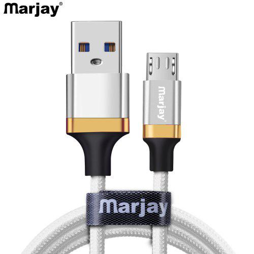 Marjay 2. 4a aluminum alloy micro type c usb fast charging cable.