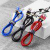 Marjay 2.4A Aluminum alloy Micro Type C USB Fast Charging Cable for Samsung Galaxy A9 S9 Pro Xiaomi