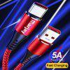 Marjay 5A Super Fast Charging Anti-Winding High Speed Type C Data Cable  For Huawei Xiaomi Samsung