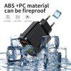 Rexxar ABS Fireproop PC Quick Charge 3.0 Wall 3 USB Charger US EU Adapter for iPhone Samsung Xiaom