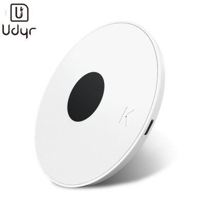 Udyr Qi 10W LED Wireless Charger Pad USB For iPhone X XS Max XR 8P Airpods Samsung S9 S10 Xiaomi