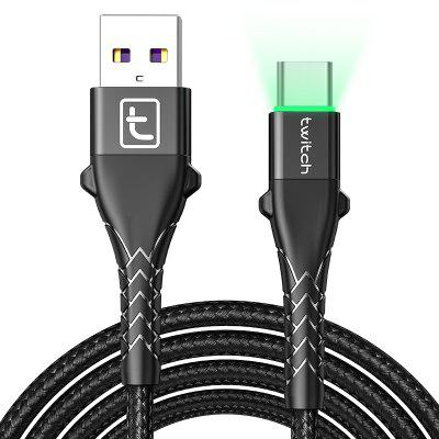 Twitch QC3.0 Aquaman USB Type C Micro USB Cable Fast Charging For Samsung S10 Huawei Xiaomi Redmi aquaman the legend of aquaman