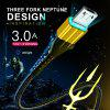 Twitch QC3.0 Aquaman USB Type C Micro USB Cable Fast Charging For Samsung S10 Huawei Xiaomi Redmi
