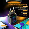 Twitch QC3.0 18W Fast Charger PC Fireproof Material EU US UK Adapter for iPhone Samsung Xiaomi Huawe