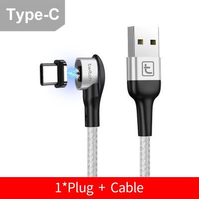 Twitch Magnetic Cable Fast 3A For iPhone Samsung Huawei Xiaomi Fast Charging Data Wire Usb cable
