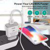 TOPK B126Q 18W Quick Charge 3.0 Fast Charging EU Plug Wall USB Charger for iPhone Samsung Huawei