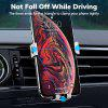 TOPK D17 Car Phone Holder Gravity Air Vent Mount Mobile Phone Holder Stand for iPhone  Xiaomi Huawei