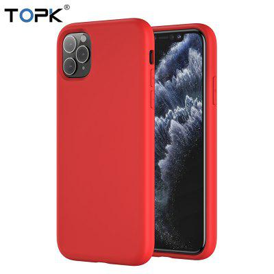 TOPK  C03 Phone Case for iPhone 11 Pro Max Soft Thin TPU Anti-knock Candy Color Cover Case