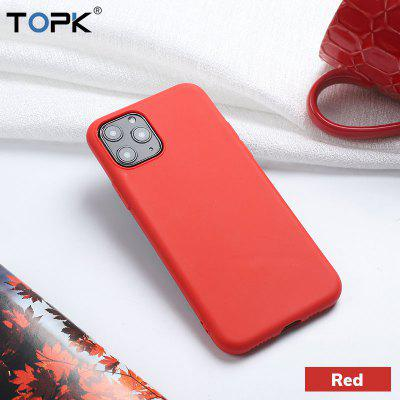 TOPK Soft Thin TPU Phone Case for iPhone  Anti-knock Candy Color for  iPhone11 X Xs Max  Cover Case