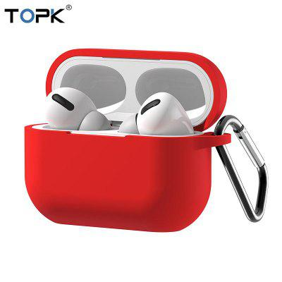 TOPK For Apple Airpods Pro Case Silicone Protective Bluetooth Earphone Soft Silicone Cover Bag