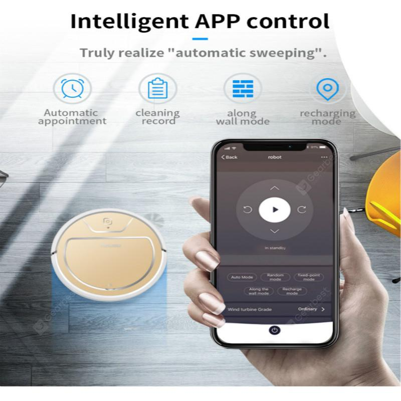 MOLISU V8S PRO Robot vacuum cleaner wifi App Sweeping and Mopping Smart planned 2000Pa Aspirador - Brazil