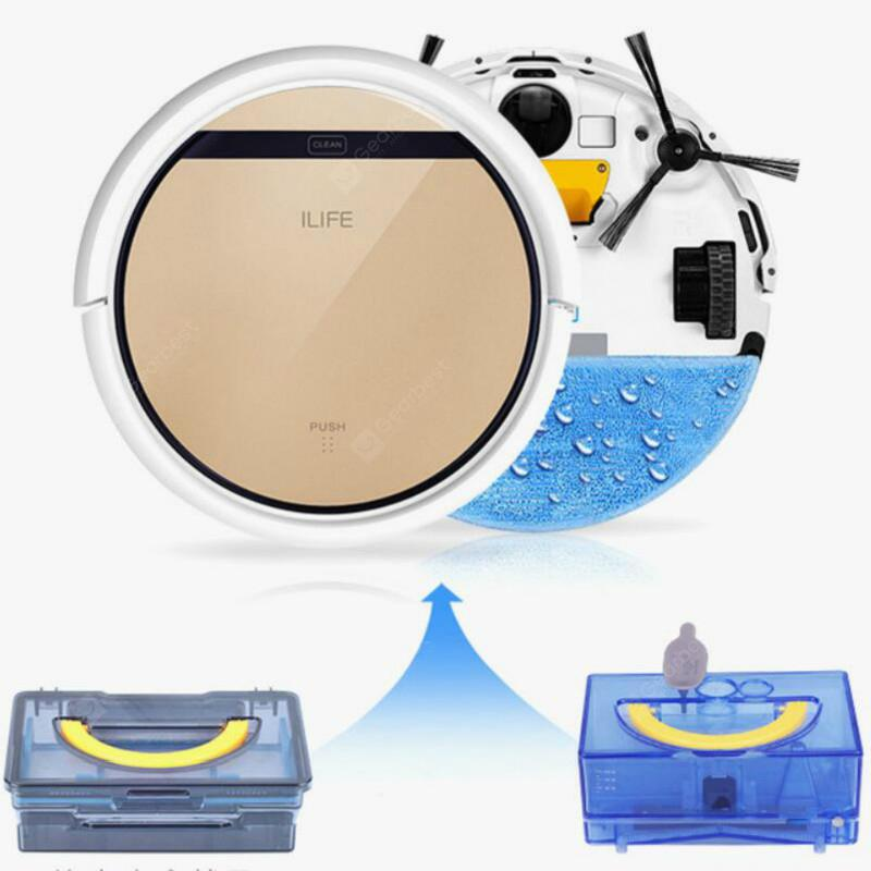 ILIFE V5s Pro Vacuum Cleaner Robot Wet and Dry Clean MOP Water Tank HEPA Filter Automatic Recharge - Czech Republic