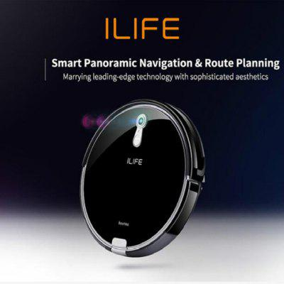 ILIFE  Wet and Dry Robot Vacuum Cleaner Smart panoramic Navigation Route planing auto charger