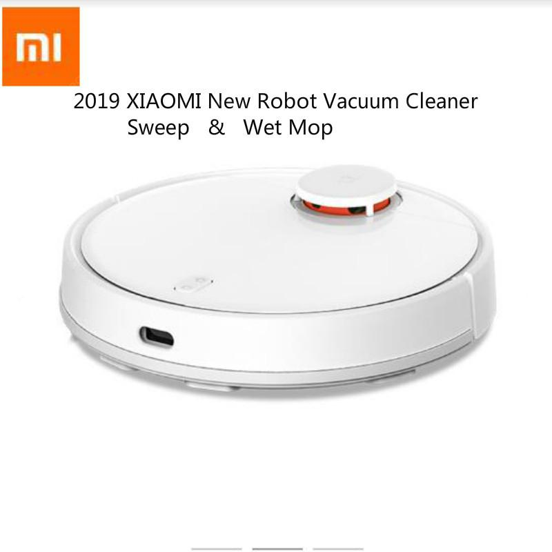 2019 New Xiaomi Mijia 2 in 1 Sweeping Wet Mopping Robot Vacuum Cleaner LDS - White China