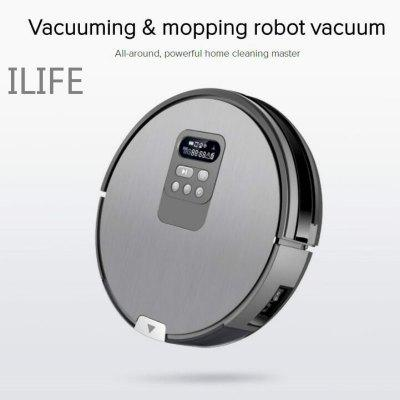 ILIFE Robot vacuum cleaner  Self-Charge Wet Mopping intelligent planning working route