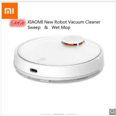 New Xiaomi Mijia robot  2 in 1 Sweeping and Wet Mopping Robot Vacuum Cleaner LDS Image