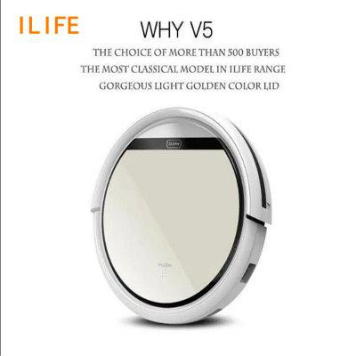 ILIFE V5 Robot Vacuum Cleaner with Sweeping Dry Remote control wireless automatic recharge-China