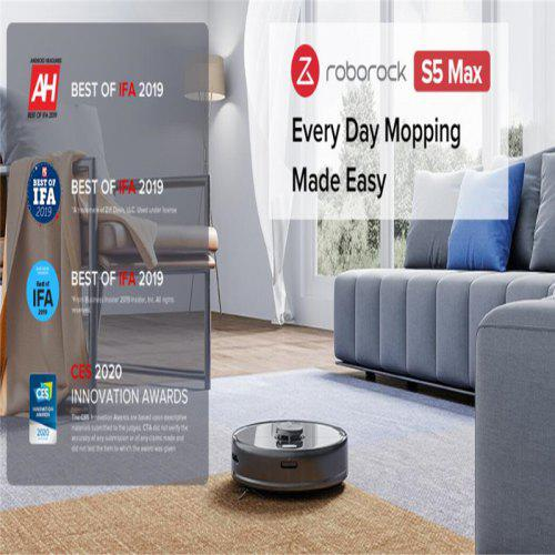 Roborock S5 Max  Robot Vacuum Cleaner for Home Smart Sweeping Robotic Cleaning Mope