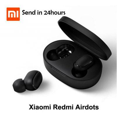 Xiaomi Wireless Earphone Mini IPX4 Waterproof Millet Bluetooth Headset with Silicone Ear Caps