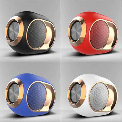 Bluetooth Speaker X6 Wireless Subwoofer Bluetooth 5.0 support dual channel hands-free calls