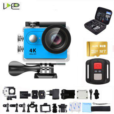 VDEO-H9R Action Camera Ultra HD 4K-30fps WiFi 170D  waterproof video helmet recording sports camera Image
