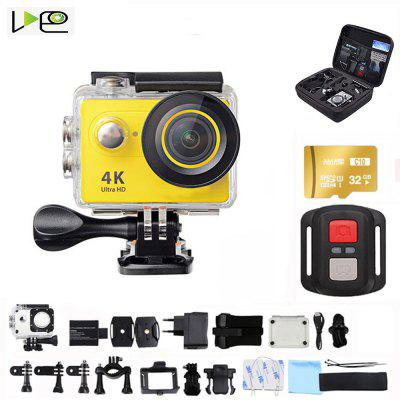 VDEO-H9R Action Camera Ultra HD 4K-30fps WiFi 170D  waterproof video helmet recording sports camera