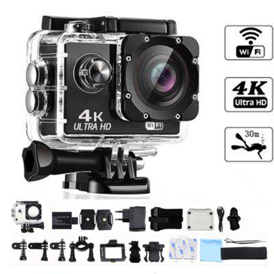 4K Action Camera WIFI 2.0 LCD Screen Full HD Mini Helmet Waterproof Sports DV Camera remote control