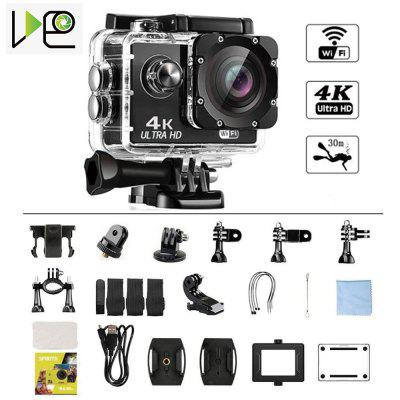 VIDEO Action Camera Ultra HD1080P WiFi 2.0 LCD 170D waterproof video helmet recording sports camera