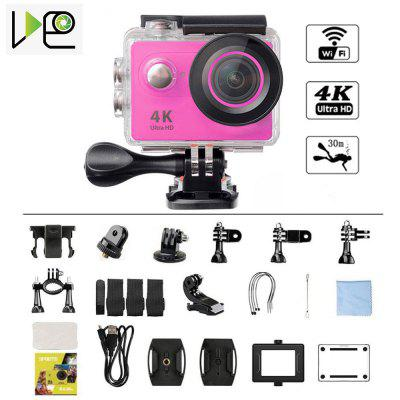 VIDEO 4K Wifi Action Camera Sport DV  Go Waterproof Pro Extreme Sports Video Bike Helmet Car Camera