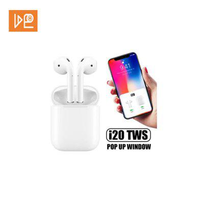 VDEO i20 TWS Bluetooth Touch Control Pop-up Headphone for iOS and Android