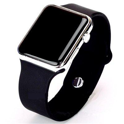 VDEO-Mens sports watch casual LED digital rubber watch