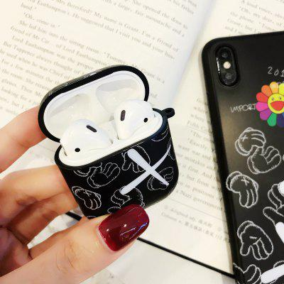 Suitable for AirPods Apple Bluetooth Headset Protective Case 1.2 Silicone Case