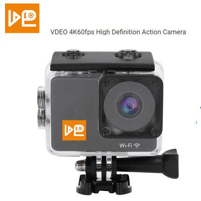 2020 New High Quality 4K60fps Frame Sports Camera WiFi Waterproof 20MP EIS Camera Motorcycle Camera Image