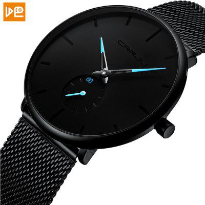 VDEO Fashion Mens Watch Top Luxury Brand Quartz Watch Mens Casual Thin Waterproof Sports Watch