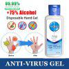 100ml portable hand sanitizer antibacterial fruity no cleaning anhydrous transparent liquid