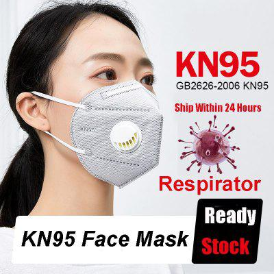 KN95 mask reusable respirator dustproof FFP3 FFP2 with valve mask avoid PM2.5 breathable mask N95