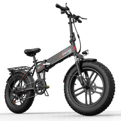 ENGWE EP-2 500W Folding Fat Tire Electric Bike with 48V 10Ah Lithium-ion Battery Image