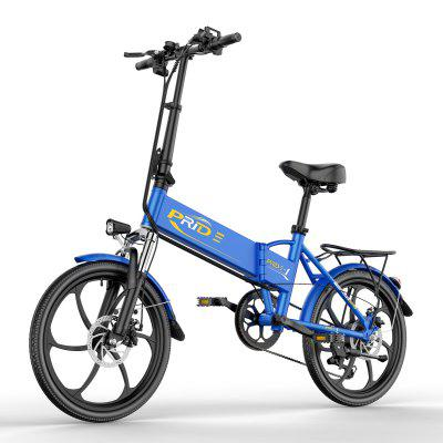 ENGWE Folding Electric Bike with 48V 8AH Removable Lithium-Ion Battery and 6 Speed Gear Image