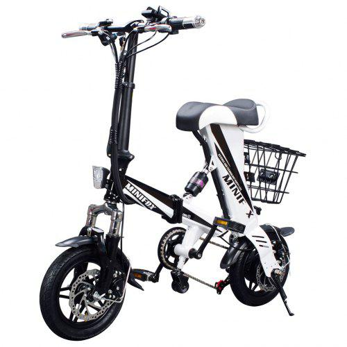 ENGWE eBike 250W Mini Folding Electric Bike with 36V8Ah Lithium Battery and Disc Brakes