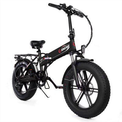ENGWE EP-2 Upgraded Version 500W Folding Fat Tire Electric Bike with 48V 12.5Ah Lithium-ion Battery Image