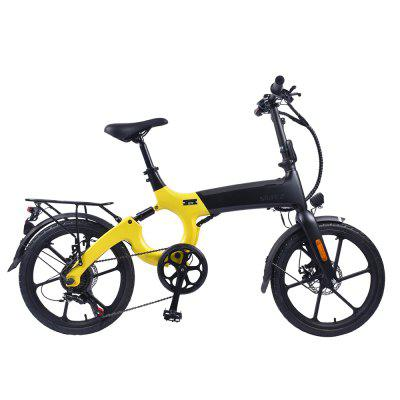 ENGWE X80 20 inch Magnesium Frame Electric Bike with 10.4Ah Battery and 6 Speeds Image